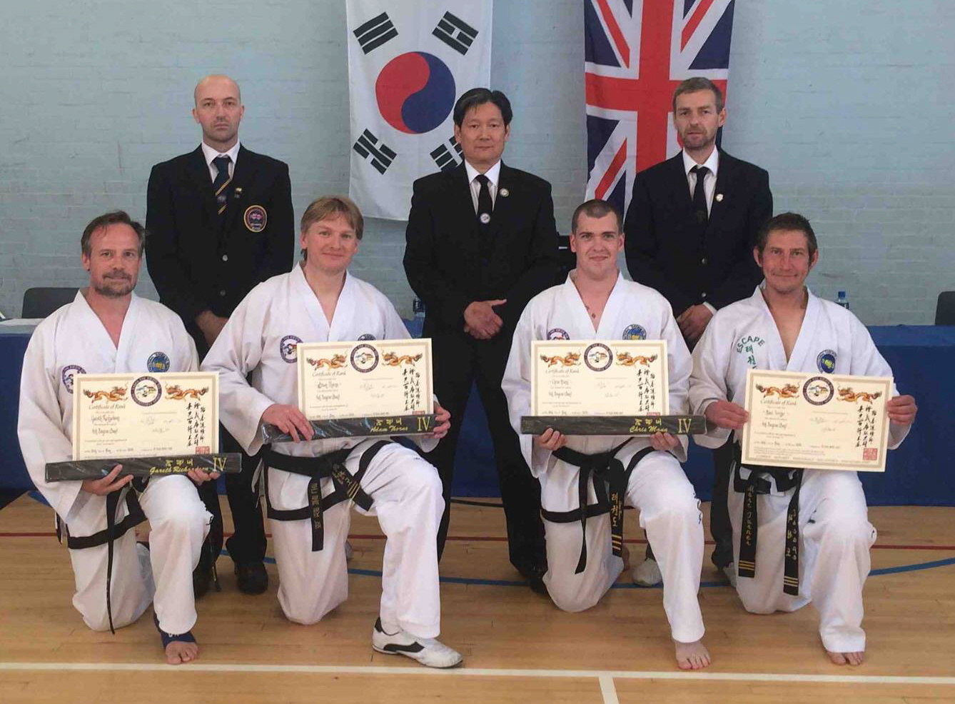 Black belt presentation May 2016